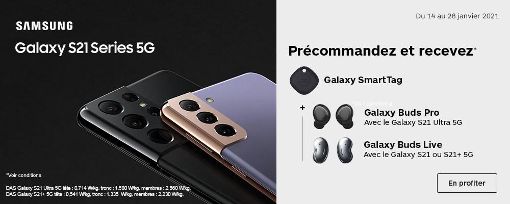 Nouveauté Galaxy S21