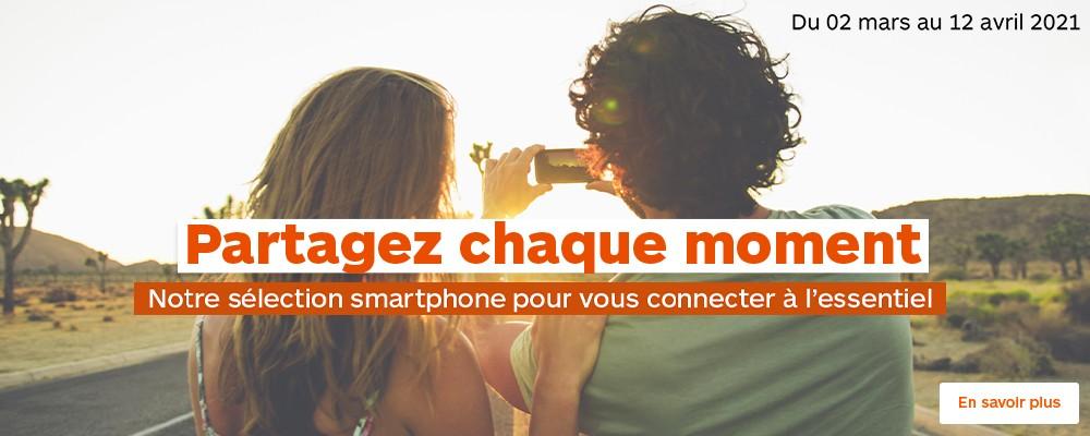Sélection smartphones