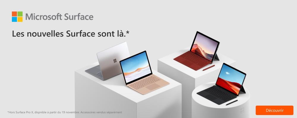 Nouveauté Microsoft