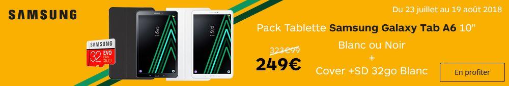 Offre Samsung Tab A