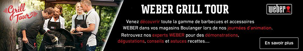 Animation magasin Weber