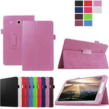 sneakers shoes for cheap best Etui Xeptio Samsung Galaxy Tab E 9.6 rose