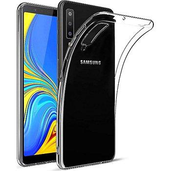 Xeptio Samsung Galaxy A7 2018 Carbone Noir Accessoire Smartphone