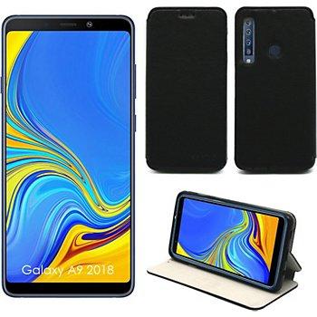 Xeptio Samsung Galaxy A9 2018 Etui Noir Accessoire Smartphone