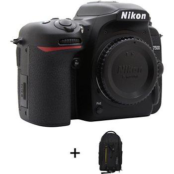 Appareil Photo Reflex Nikon D7500 Sac à Dos Premium
