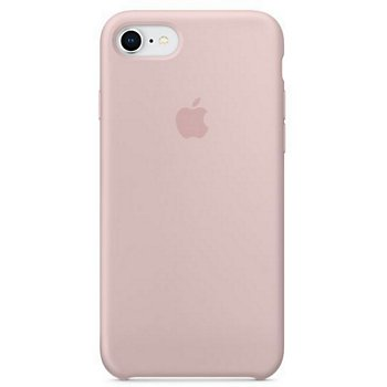 usa cheap sale competitive price best sale Coque Apple iPhone 7/8 Silicone rose des sables