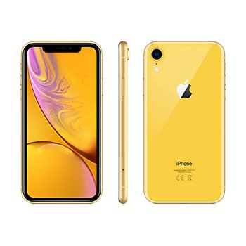 coque apple jaune iphone xr