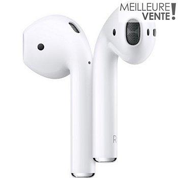 Ecouteurs Apple AirPods 2 + étui de charge