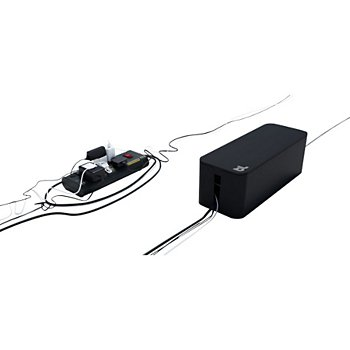 Range Câble Bluelounge Cablebox Noir
