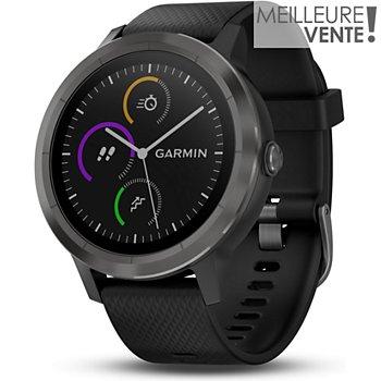 90d42963223 Garmin Vivoactive 3 gray noir Montre GPS