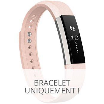 Cuir Pink Bracelet Alta Fitbit L c34RL5Ajq