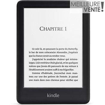 3d0a25e852bda Amazon Nouveau Kindle 6' Noir 4Go E-book - Liseuse | Boulanger
