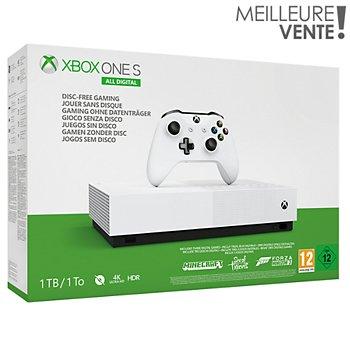 Carte Xbox Live Boulanger.Console Xbox One S Microsoft All Digital 1 To