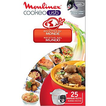 Cle Usb Moulinex Cookeo 25 Recettes Du Monde