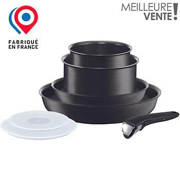 Batterie De Cuisine Tefal Ingenio Performance Noir 7p Induction