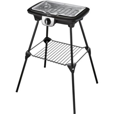 Tefal Easygrill2en1 Bbq Plancha Pieds Bg931812 Barbecue Electrique