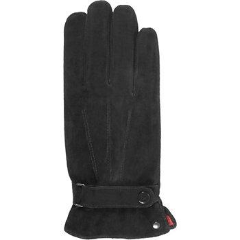 25a1397f51209 Isotoner Homme Ultra chaud respirant cuir noir Stylet - Gant   Boulanger