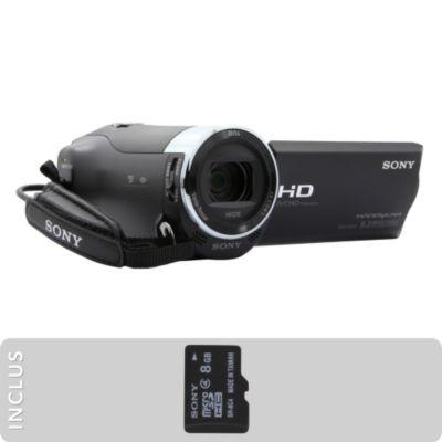 Image du produit CAMÉSCOPE SONY PACK HDR-CX240   MICROSD 8GO