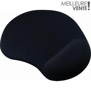 Essentielb Repose Poignet Noir Tapis De Souris Repose Poignet