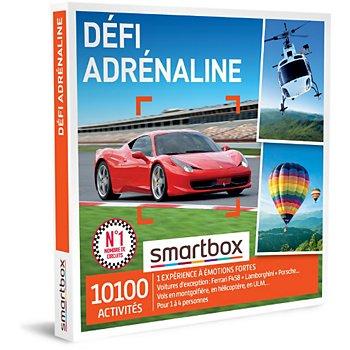 Coffret Cadeau Smartbox Défi Adrénaline