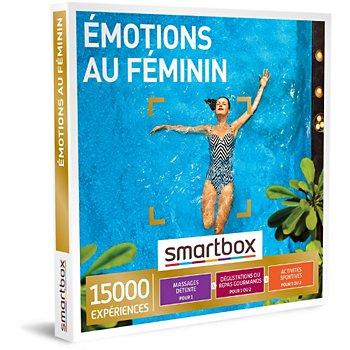 Coffret Cadeau Smartbox émotions Au Féminin