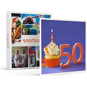 Coffret Carte Cadeau Smartbox Joyeux Anniversaire Pour Homme 50 Ans Boulanger
