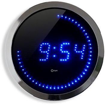 Orium Horloge LED bleue 30 cm Aide à l\'autonomie et à la mobilité ...