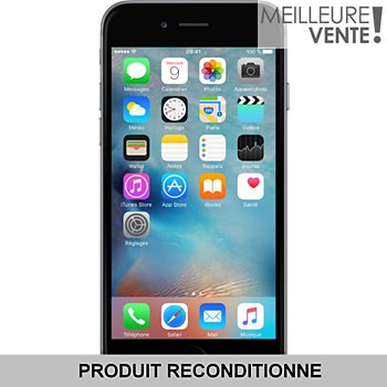 bac66b7070d27b Apple iPhone 6 64 Go Gris Sidéral Grade A+ Reconditionné - Excellent État  Smartphone   Boulanger