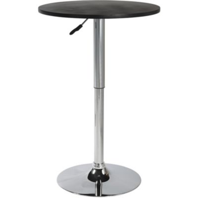 Table De Bar Noir table de bar cynthia.plateau noir mobilier | boulanger