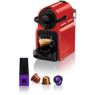 Nespresso Inissia Blanche krups inissia red ruby yy1531fd nespresso | boulanger