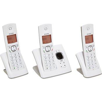 78e4542b805727 Alcatel F530 Voice Trio Grey Téléphone sans fil   Boulanger