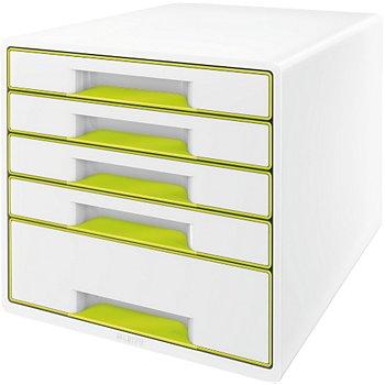 détaillant en ligne 6422c 0883a Bloc tiroir Leitz Bloc de classement tiroirs WOW Vert