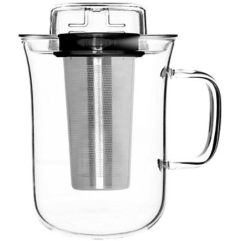 qdo et infuseur a the me cup - noir accessoire et consommable café