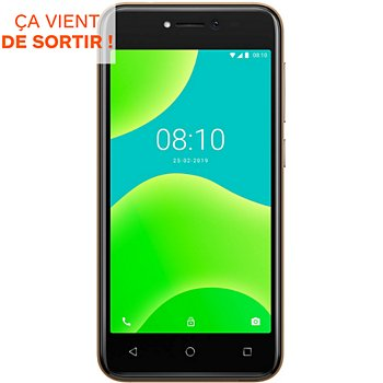 Carte Sd Wiko Boulanger.Smartphone Wiko Y50 Or