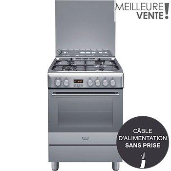 Cuisinière Mixte Hotpoint H6t9ce X Fr