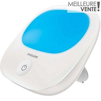 Philips Hf3420 01 Energy Up Bleu Luminotherapie Boulanger