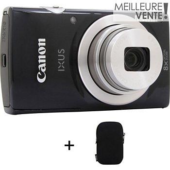 Appareil Photo Compact Canon Ixus 185 Noir Etui