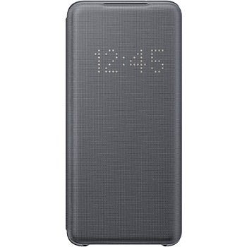 Etui Samsung S20 LED View cover gris