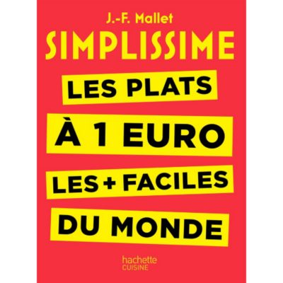 Simplissime Livre De Cuisine | Hachette Simplissime Les Plats A 1 Euro Livre De Cuisine Tablette