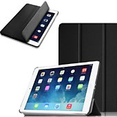 Etui Xeptio Apple iPad Air 2 smartcover noir