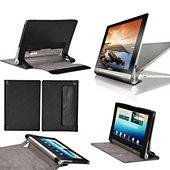 Etui Xeptio Lenovo Yoga Tablet 10.1 noir