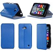 Etui Xeptio Microsoft (Nokia) Lumia 640 4G bleu