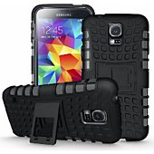 Etui Xeptio Samsung Galaxy S5 silicone noir