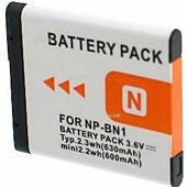 Batterie camescope Otech pour SONY CYBER-SHOT DSC-W510