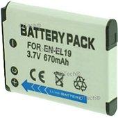 Batterie appareil photo Otech pour NIKON COOLPIX S2800