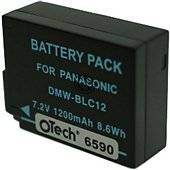 Batterie appareil photo Otech pour PANASONIC DMW-BLC12E