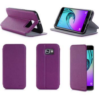 Xeptio Samsung Galaxy A3 violet Cuir stand