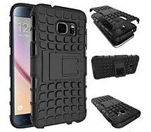 Coque Xeptio Samsung Galaxy S7 noire stand