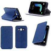 Etui Xeptio Samsung Galaxy J3 2016 bleu