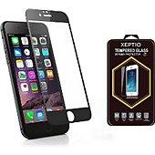 Protège écran Xeptio APPLE iPhone 7 noir Full cover
